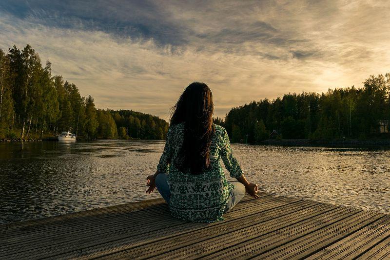 meditare da soli